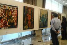 اولین نمایشگاه فروش آثار نقاشی تبریز گشایش یافت