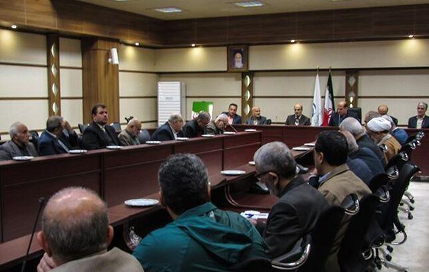 اعضای هیات اجرایی حوزه انتخابیه شهرستانهای ساری و میاندورد انتخاب شدند