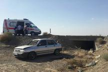 واژگونی خودرو در محور اسفراین 5 مصدوم برجا گذاشت