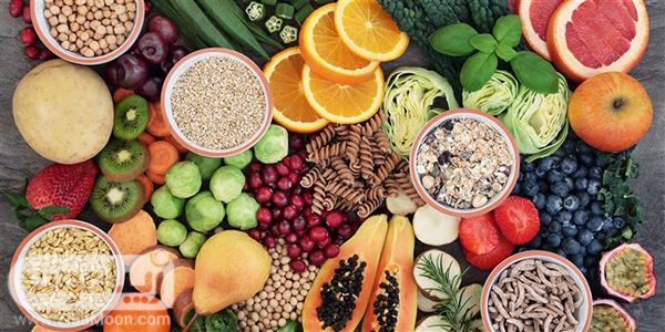 مواد غذایی سرشار از فیبر