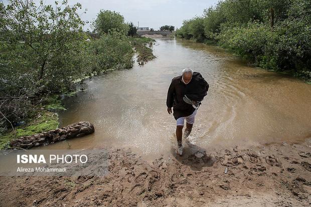 پرداخت تاکنون ۴۸ میلیارد ریال وام بلاعوض به کشاورزان سیلزده خوزستانی
