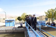 عملیات اجرایی طرح شبکه فاضلاب باباحیدر آغاز شد