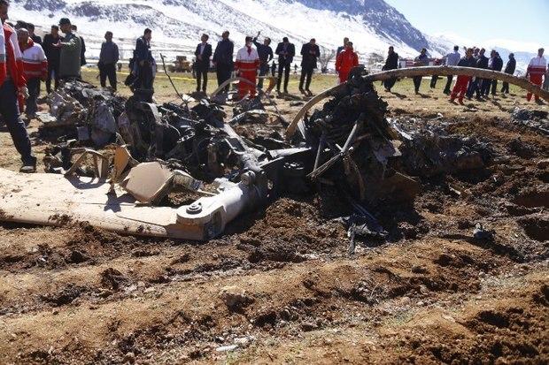 استاندار چهارمحال و بختیاری حادثه سقوط بالگرد امداد را تسلیت گفت
