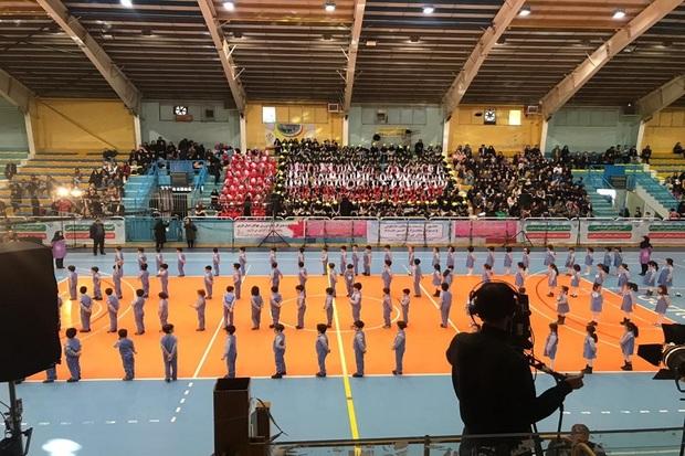 جشنواره بزرگ ورزش خانواده در قزوین برگزار شد