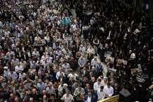 نمازگزاران تبریز خواستار آزادی بی قید و شرط شیخ عیسی قاسم شدند