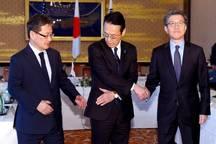 عکس/ دست دادن عجیب مذاکره کنندگان هسته ای