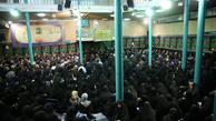 مراسم عزاداری صبح تاسوعای حسینی(ع) در حسینیه جماران