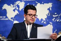 سخنگوی وزارت خارجه: سفر مکرون به ایران قطعی نیست