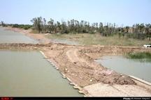 گزارش تصویری تکمیل سیل بندهای اروند صغیر در آبادان
