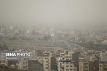 هوای چهارمحال و بختیاری ناسالم است  تشدید گرد و غبار برای بعدازظهر امروز