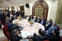 تصاویر مهمانی لاریجانی با حضور مسئولان کشور