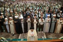 نماز عید سعید قربان در حرم مطهر  کریمه اهل بیت(ع)