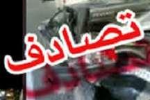 سانحه رانندگی محور گرگان - کردکوی 2 کشته برجا گذاشت