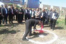 عملیات اجرایی ساخت حسینیه و مجموعه رستوران های آرامستان اراک آغاز شد