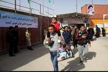 990  هزار زائر از مرز مهران وارد کشور شدند