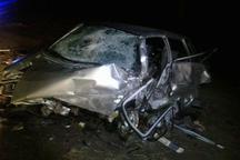 تصادف در جاده بوکان - میاندوآب 2 کشته و سه زخمی برجا گذاشت