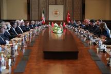 روحانی: تلاش هرچه بیشتر برای تحقق هدفگذاری تجارت 30 میلیارد دلاری تهران – آنکارا ضروری است/ دو دولت و ملت ایران و ترکیه در شرایط سخت در کنار یکدیگرند/ اردوغان: ترکیه امنیت و ثبات ایران را امنیت و ثبات خود می داند