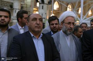 تجدید میثاق استاندار و کارکنان استانداری تهران با آرمان های حضرت امام(س)