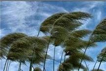 افزایش شدت وزش باد در برخی از مناطق استان طی امروز و فردا