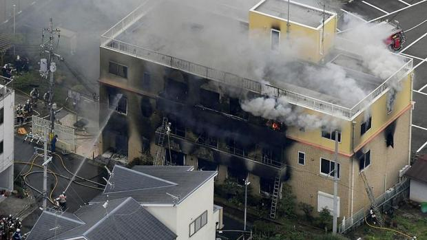 آتش سوزی مرگبار در ژاپن+عکس