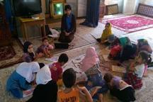برگزاری آئین اختتامیه آموزش قرآن در مجتمع فرهنگی حضرت معصومه(س) در پره سر