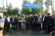 افتتاح همزمان پروژههای عمرانی شهرداری لاهیجان در هفته دولت
