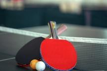 برتری تیم های تنیس روی میز گیلان، لرستان و قزوین در لیگ کشور