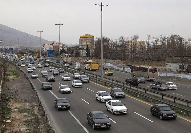 بیش از 9 میلیون خودرو از مسیرهای ارتباطی قزوین تردد کردند