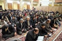 آئین سنتی قره بایرام در مساجد آستارا برگزار شد