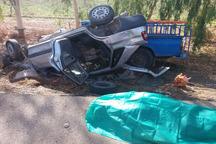 تصادف در جاده شوشتر- اهواز 15مصدوم برجای گذاشت