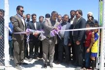 زمین چمن مصنوعی روستای احمدآباد بهاباد افتتاح شد