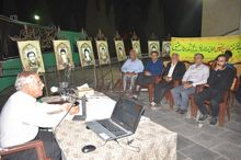 شب شعر دفاع مقدس در بهاباد برگزار شد