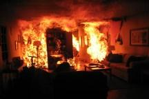 منزل مسکونی توسط پسر جوان به آتش کشیده شد