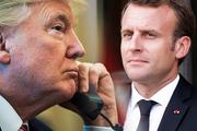 گفتوگوی تلفنی روسای جمهور آمریکا و فرانسه درباره ایران