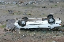 واژگونی خودرو سواری درجاده اشتهارد-ماهدشت یک کشته برجا گذاشت