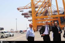 گسترش ریل لجستیک در بنادر از حوزه های مهم همکاری با ایران است