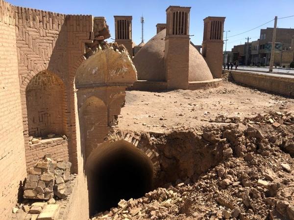 تخریب بنای تاریخی مشترک مسلمانان و زرتشتیان یزد
