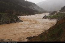 میزان بارندگی کوهرنگ به بیش از 93 میلیمتر رسید