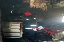 آتش سوزی در خوابگاه دخترانه اهواز  حادثه تلفات جانی در بر نداشت