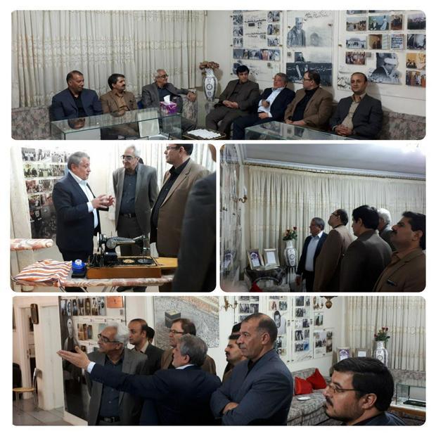 بازدید اعضای شورای اسلامی شهرستان الیگودرز از خانه موزه آیت الله هاشمی رفسنجانی