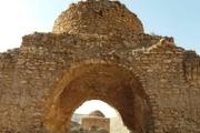 مرمت چهارطاقیهای قصر آینه داراب آغاز شد