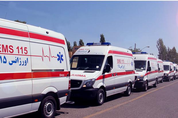 18 دستگاه آمبولانس به اورژانس جادهای افزوده می شود