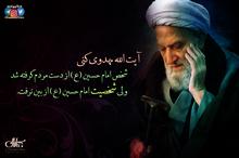 پوستر | آیت الله مهدوی کنی: شخص امام حسین (ع) از دست مردم گرفته شد ولی شخصیت امام حسین (ع) از بین نرفت