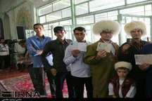 شور وشوق رای اولی های خراسان شمالی در پای صندوق های رای