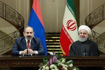 رئیسجمهور: میخواهیم روابط تهران – ایروان را در همه عرصهها گسترش دهیم/ همکاری دو کشور در صنعت ای سی تی توسعه مییابد/ ایران آماده ارسال گاز بیشتر به ارمنستان است