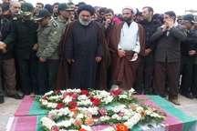 پیکر پاک چهار شهید گمنام در قروه و دلبران تشییع شد