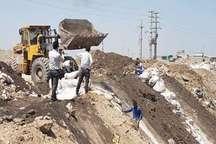 عامل تخلیه پسماندهای صنعتی ساوجبلاغ در دام قانون