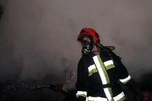 مدیر کل مدیریت بحران قزوین با آتش نشانان مصدوم دیدار کرد