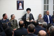 فرمانده کل قوا: قرارگاه پدافند هوایی در خط مقدم مقابله با دشمنان ایران است/ از لحاظ محاسبات سیاسی احتمال وقوع جنگ نظامی وجود ندارد