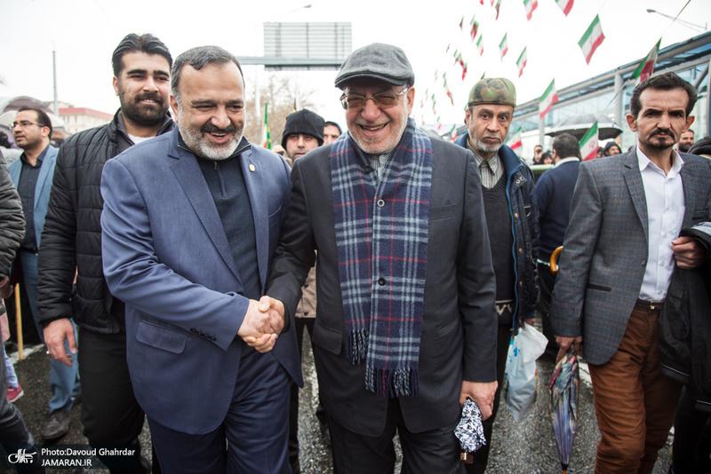 راهپیمایی باشکوه 22 بهمن در قم-5